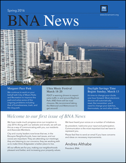 BNA Spring Newsletter icon
