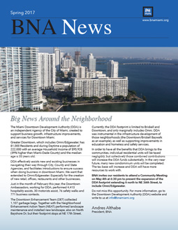 BNA Spring 2017 newsletter